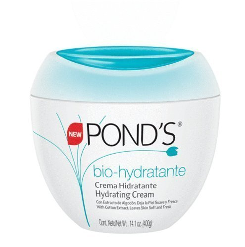 Ponds Bio-Hydratante Cream 14.1 Ounce Jar (417ml) (2 Pack)