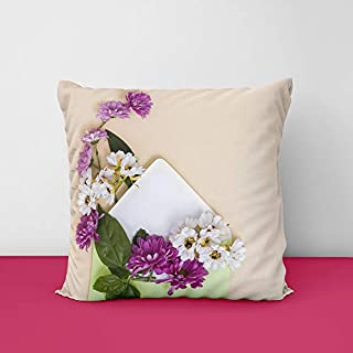 41U1QJq0ZqL. SS320 Colourfull Latter Square Design Printed Cushion Cover