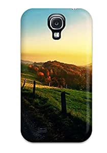For Galaxy S4 Fashion Design Sunset Trees Case-RzBtz439iqgjl
