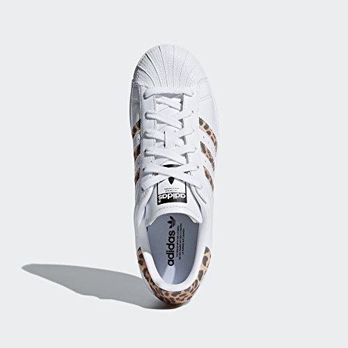 adidas Originals Women's Superstar W Sneaker, FTWR White, Supplier Colour, Core Black, 9 M US by adidas Originals (Image #4)