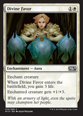 Magic: the Gathering - Divine Favor (010/269) - Magic (Divine Favors)