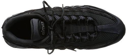 newest 63b07 13c0d ... Nike Wmns Air Max 95 Prm, Zapatillas de Deporte para Mujer Negro (Mtlc  Hematite ...