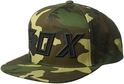 Cap Bill Camo (Fox Men's Flat Bill Snapback Hat, Camo, OS)