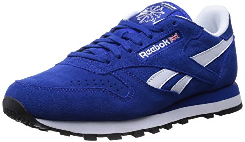Reebok Classic Suede Herren Sneakers Blau (Collegiate Royal/White/Black/Gold Met)