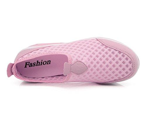 Plateforme à Baskets Womens solide sport Honey Chaussure XMeden de enfiler Peigne en maille aAx4t0qw6