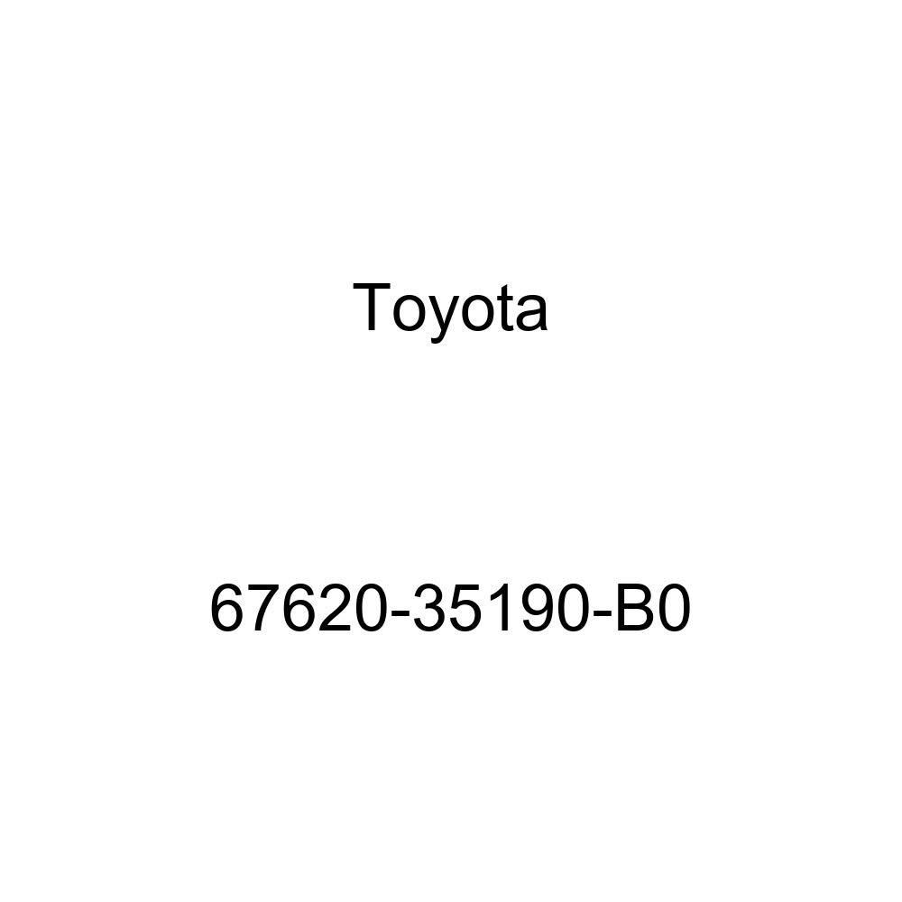 Genuine Toyota 67620-35190-B0 Door Trim Board