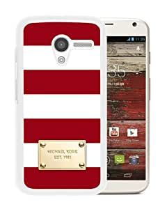 Michael Kors 81 White Personalized Recommended Custom Motorola Moto X Phone Case