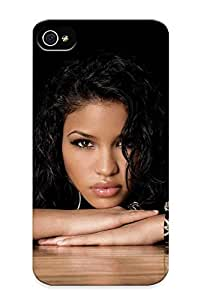 Guidepostee High Quality Shock Absorbing Case For iPhone 6 4.7cassie Ventura Singer Actress Women Females Girls Models Brunees Sexy Babes Face Eyes Pov