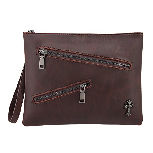 Clutch Bag With Hand Strap - 7