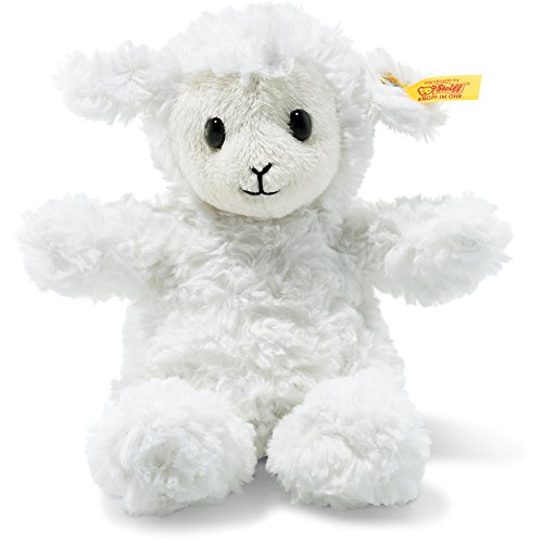Cuddly Plush Animal (Steiff Stuffed Fuzzy Baby Lamb - Soft And Cuddly Plush Animal Toy - 8