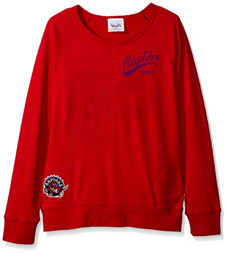 2e14d180f50b NBA Toronto Raptors Women s Dugout Reversible Pullover Sweatshirt