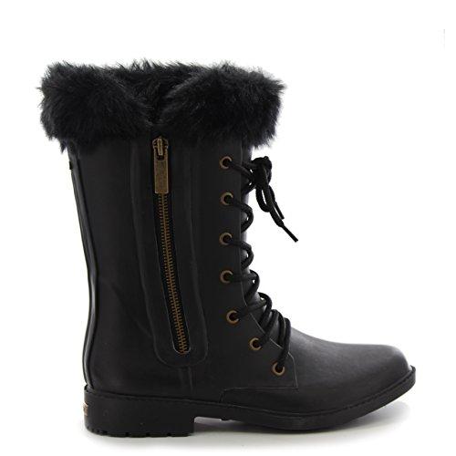 Chooka Donna Equus Mid Rain Boot Nero
