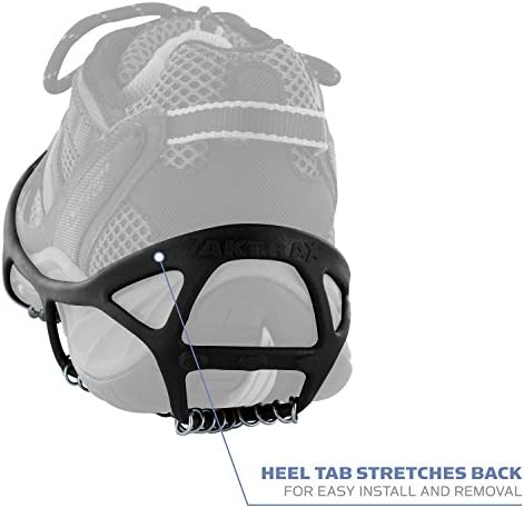 Yaktrax Walk Traction Cleats for Walking on Snow and Ice (1 Pair)