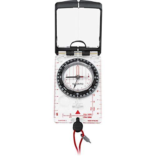 SUUNTO MC2 Navigator Mirror Sighting Compass with Built-In Clinometer, Quadrant ()