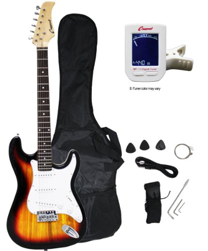 Crescent EG-SB 39″ Electric Guitar Starter Package – Sunburst Color