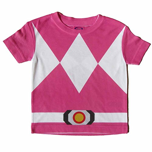 Pink Ninja Costume Toddler T-Shirt 2T Inspired by Power Rangers (Pink Power Ranger Toddler Costume)