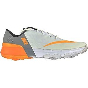 Nike Ladies FI Flex Shoes White-Laser Orange-Wolf Grey Size 7.5M