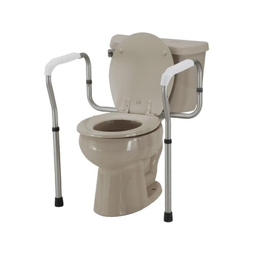 Toilet Safety Rails - Single - 1 Each/Each - 8200-S