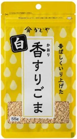かどや製油 香すりごま 白 55g×10袋入×(2ケース)
