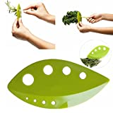 Asamour Plastic Loose Leaf Herb Stripper Kale Chard Greens Herb Stripper Kitchen Gadgets Tools