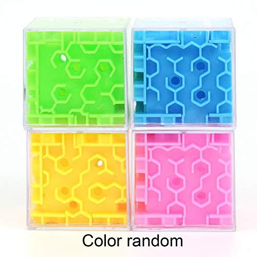 Panamami Giocattoli educativi relativi all'intelligenza dei Bambini con Sfera a Labirinto 3D - Random 4.5x4.5x4.5cm