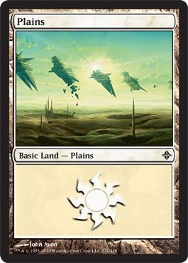 Magic: the Gathering - Plains (231) - Rise of the Eldrazi (Tcw Natural)