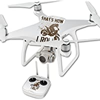 Skin For DJI Phantom 4 Quadcopter Drone – Motocross | MightySkins Protective, Durable, and Unique Vinyl Decal wrap cover | Easy To Apply, Remove, and Change Styles | Made in the USA