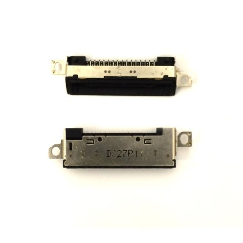 RVOUSA_iPod Touch 4 4th Touch Dock Connector Charging Charger Port USB Port Flex Cable (Black)