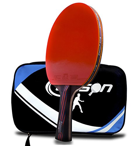 Table Tennis Racket.Advanced Tennis Racket.Ping Pong Paddle..Open Grip (Open Tennis Racket)