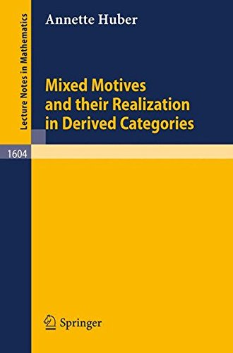 Mixed Motives and their Realization in Derived Categories (Lecture Notes in Mathematics)