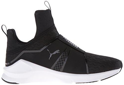 PUMA Women's Fierce Eng Mesh Cross-Trainer Shoe, Black White, 9.5 M US by PUMA (Image #7)