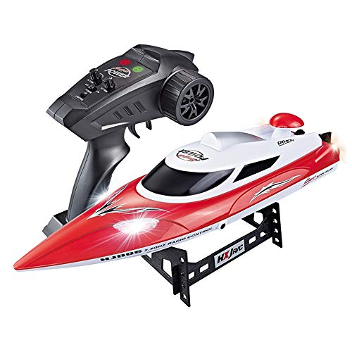 RC Boats High Speed(21.7MPH+) Electronic Remote Control Boat Lakes Pool Race Toys for Adults & Kids