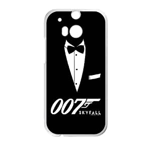 HTC One M8 Phone Case for Classic Theme Skyfall 007 pattern design GJBDSFL00791373