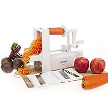 Savisto Kitchen Vegetable/Fruit Spiralizer with Interchangeable Blades [SV-KITC-Z054]