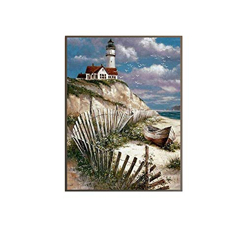 painting lighthouse - 9