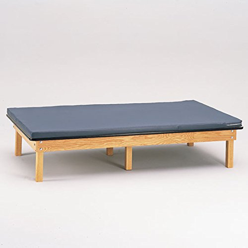 Clinton Mat Platform - Clinton Wooden Fixed Height Mat Platform Therapy Table with Removable Top