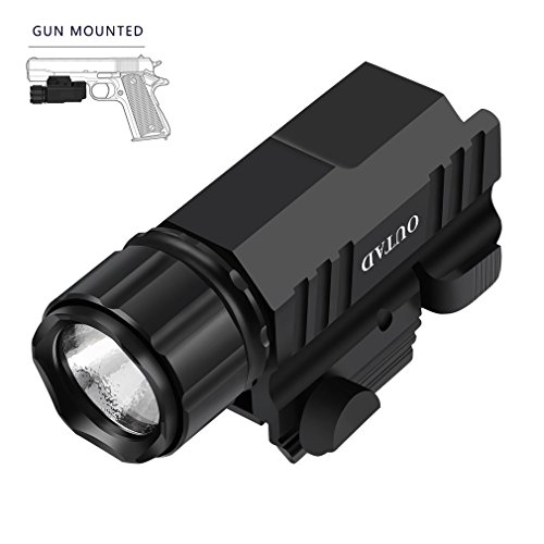 Tactical Flashlight Laser Sight 20mm 30mm Offset Weapon Picatinny Mount Gaskets