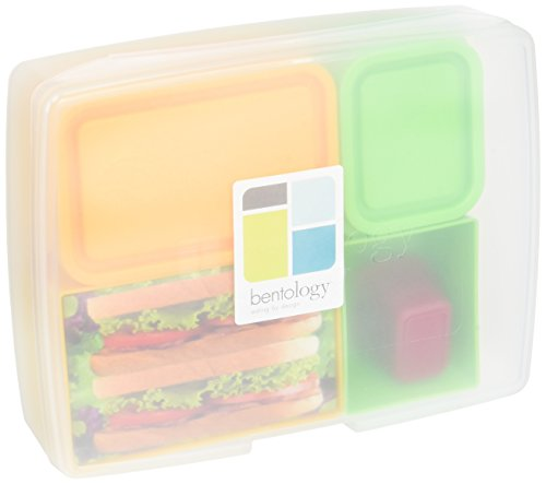 Bentology Leak proof Removable Containers Multicolor product image
