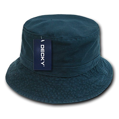 DECKY Polo Bucket Hat, Nvy, L_XL