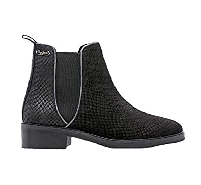 Pepe Jeans, Damen Stiefel   Stiefeletten, Schwarz - Schwarz - Größe  37 EU 25c67dc821
