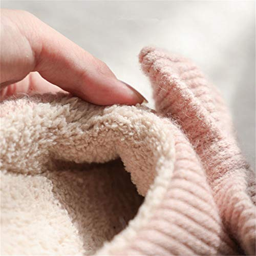 YMFIE a cotone lavorato cotone uomo donna da da antiscivolo caldo maglia inverno casa in Pantofole A per interno in e con aXrxqwFaC