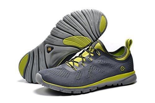 Senximaoyi Respirant Absorbant Loisirs De Plein Air Alpinisme Chaussures De Jogging Chaussures De Sport, Gris, 9