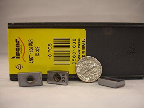 Iscar - Ankt 1404 Pnr Ic328 Iscar Carbide Inserts (10Pcs) New&Original (Inserts Iscar Ic328)