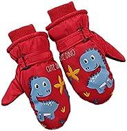 Winter Warm Toddler Mittens, Kids Ski Waterproo Windproof Choppers Gloves