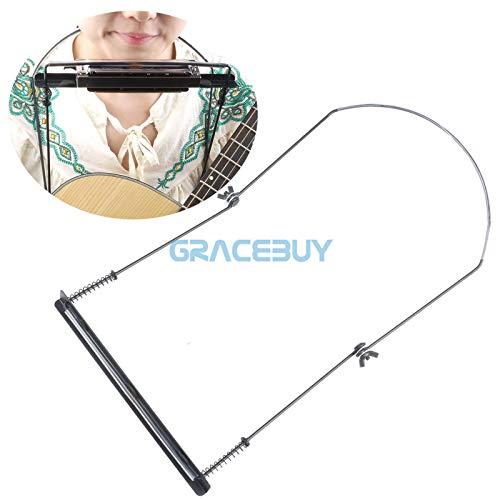FidgetGear Harmonica Mouth Organ Holder Stand 24 Holes Neck Holder Harmonic Harp Rack New from FidgetGear