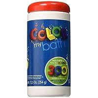 Color My Bath, pastillas de baño que cambian de color, 300 piezas