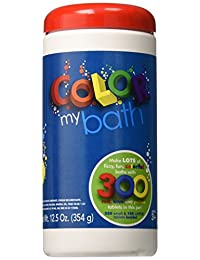 Color My Bath Color Changing Bath Tablets, 300-Piece BOBEBE Online Baby Store From New York to Miami and Los Angeles
