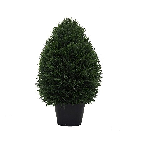 Vickerman TP171624 Everyday Cedar Topiary by Vickerman