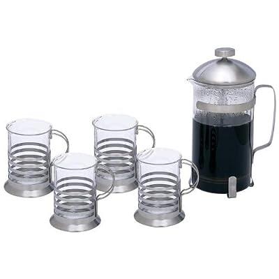 Wyndham House™ 1.06qt (1L) French Press Coffee/ Tea Set