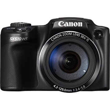 POWERSHOT SX510 HS BLK 12.1MP 30X Opt 3.0IN LCD